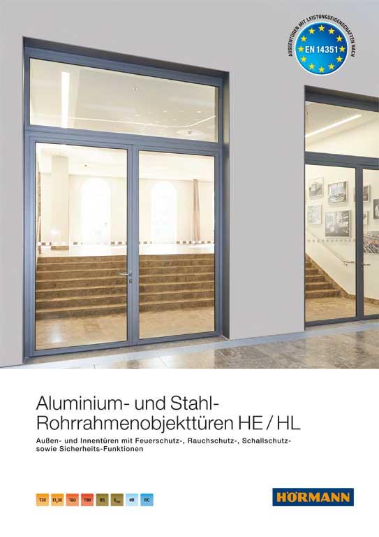Hörmann Aluminium- und Stahl-Rohrrahmenobjekttueren