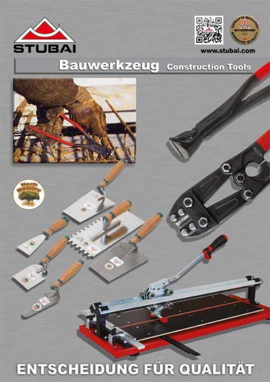 STUBAI Bauwerkzeug Katalog 2020