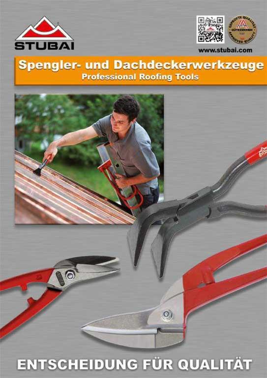 STUBAI Spengler- und Dachdeckerwerkzeuge Katalog